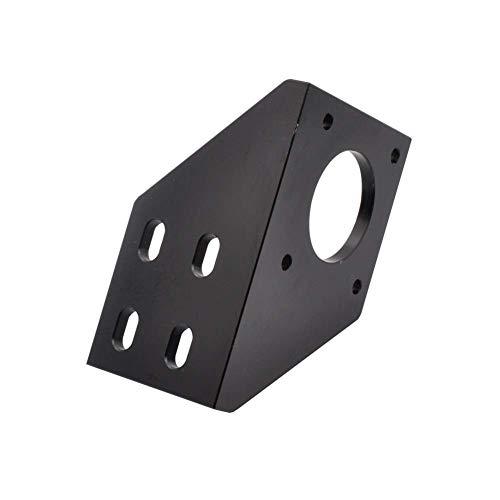 QOHFLD Accessori per Stampante Nero/Argento BLV ASSE Y Alluminio Nema17 Staffa di Montaggio Motore Tipo L Lavorazione CNC Adatta per Parti della Stampante 3D Anet A8 Prusa I3 (Colore: Argento)