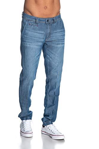 jeans yes zee uomo Yes Zee Pantalone Uomo Blu Denim