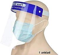 PAIDE P 1 Unidad Pantalla Facial Anti Salpicaduras - Protección Individual Facial - Máscara de Escudo Transparente contra Salpicaduras (MDL003)
