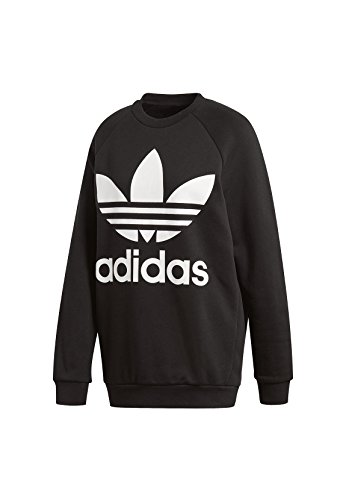 adidas Damen Oversized Sweatshirt, Black, 38