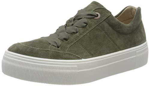Legero Damen Lima Sneaker, Grün (Dusty Olive) 7200, 40 EU