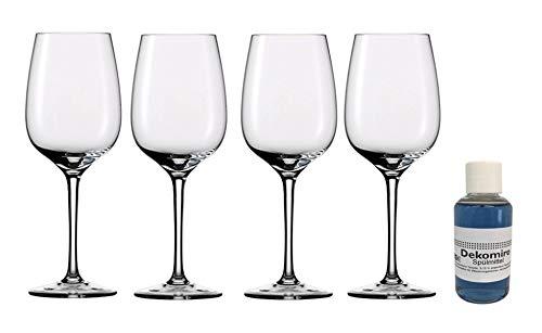 Dekomiro Eisch Superior Sensis Plus Chardonnay witte wijnglazen 500/31 set van 4 met 50 ml afwasmiddel