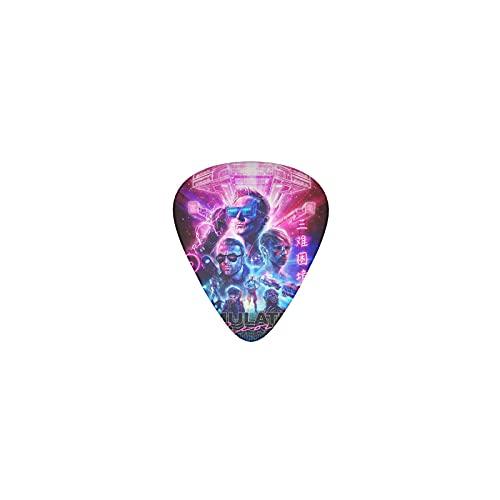 Muse Simulation Theory Pack de 12 médiators de guitare Guitare Électrique Guitare Acoustique Basse Médiators Personnalisés de Guitare