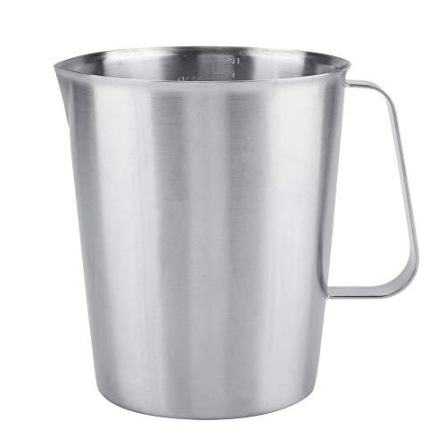 Jarra de leche de acero inoxidable - Taza de espuma de 2000...