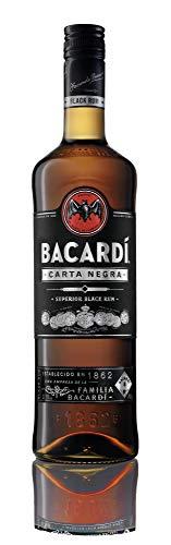 BACARDI Carta Negra Rum (3 x 0.7 l)