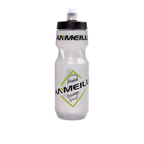 Botella de Agua para apretar en Bicicleta, sin BPA, Ajustable, a Prueba de Fugas, para Bicicleta, hervidor de Agua, Suministro para Beber - H1, A1