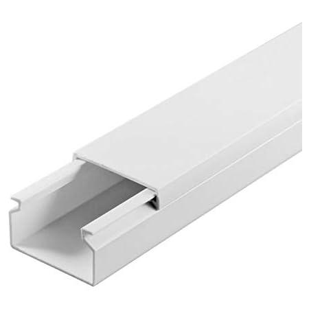Scos Smartcosat Scoskk163 1 M Kabelkanal L X B X H 1000 X 30 X 20 Mm Pvc Kabelleiste Selbstklebend Weiß Baumarkt