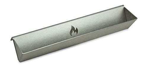 Grillrost.com Das Original Neuentwicklung: Smokerschiene Räucherschiene zum entzünden auf Knopfdruck