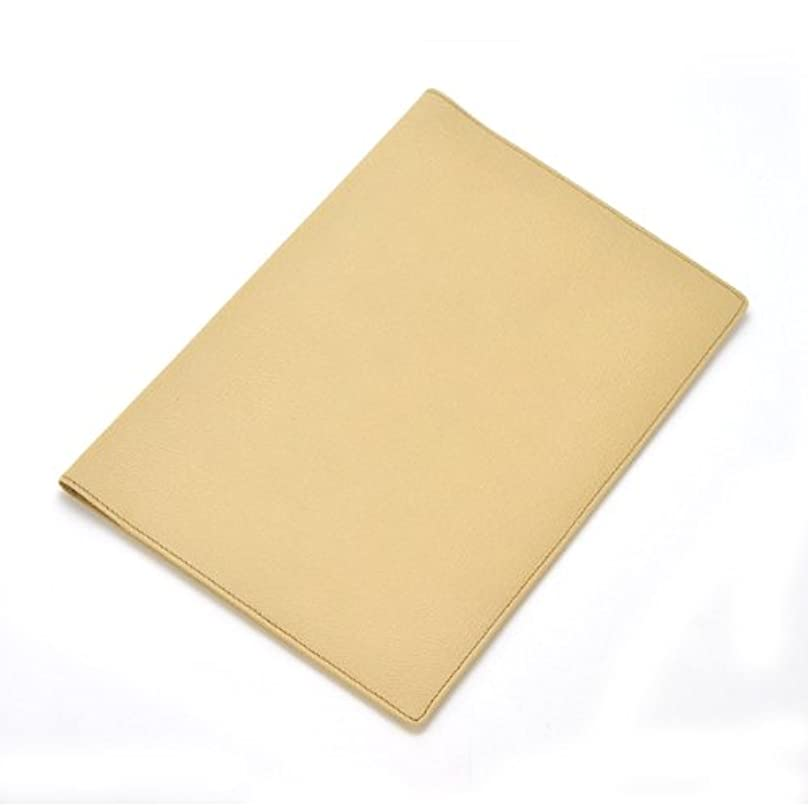 甘美な一般化する冷ややかなカラーチャート B5手帳カバー イエローオーカー