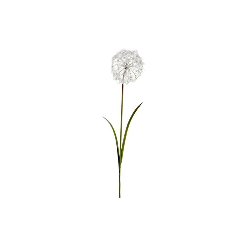 """silk flower arrangements 48"""" silk dandelion flower spray -cream (pack of 8)"""