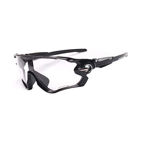 Gafas de ciclismo Las gafas de ciclismo, las gafas de seguridad se pueden usar para ciclismo al aire libre, espejos deportivos a prueba de viento, gafas de sol polarizadas, para ver más cl gafas de ci