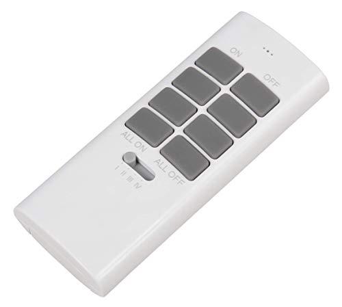 MC POWER - Funk-Fernbedienung | COMFORT | 433,9 MHz, 3-Kanäle, für bis zu 12 Empfänger, max. 30m