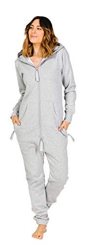 Moniz Damen Jumpsuit (XS, Sand Grey)