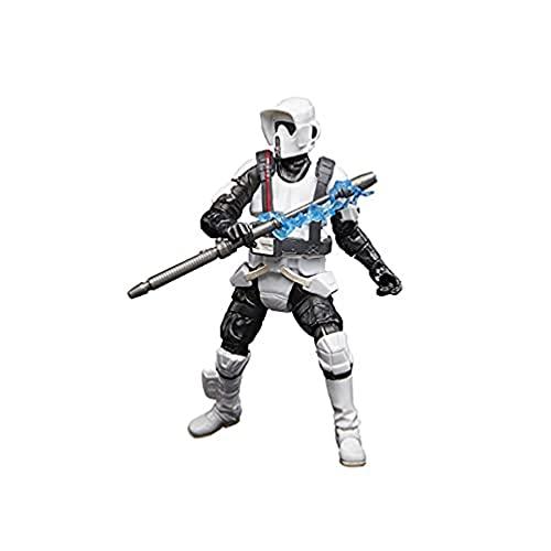 Star Wars La colección Vintage - Gaming Greats - Star Wars Jedi: Fallen Order - Figura de Shock Scout Trooper a Escala de 9,5 cm - Edad: 4+