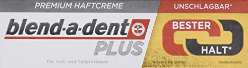 Blend-a-dent Plus Premium-Haftcreme Duo Kraft, 12er Pack (12 x 40 g)