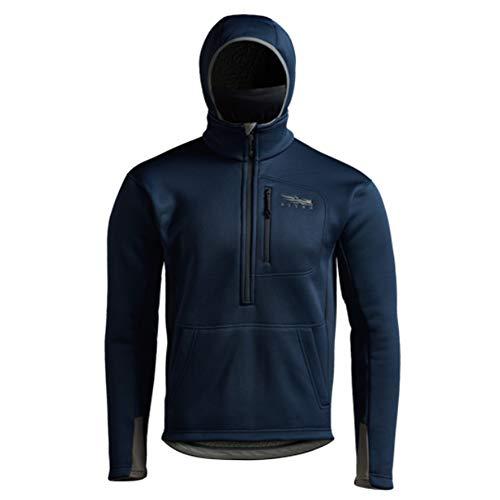 SITKA Gear Men's Gradient Fleece Insulated Performance Hunting Hoody, Eclipse, XX-Large (50129-EC-XXL)