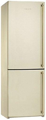 Smeg FA860PS Independiente 304L A+ Crema de color nevera y congelador - Frigorífico (304 L, N-ST, 41 dB, 4 kg/24h, A+, Crema de color)