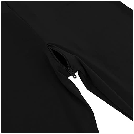 Agoky Women's One Piece See Through Mesh Sheer Long Sleeve Zipper Front Turtleneck Bodystocking Teddy Bodysuit