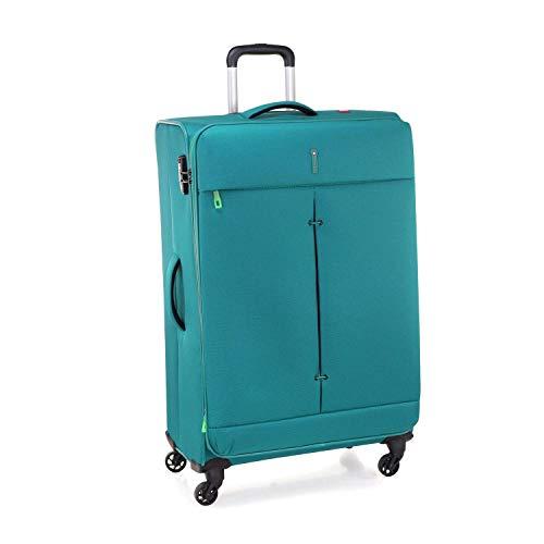 Roncato Trolley Grande L Morbido Ironik - cm. 78x48x29/32 L 103-113 Espandibile Ultra-leggero Chiusura TSA Garanzia 2 anni