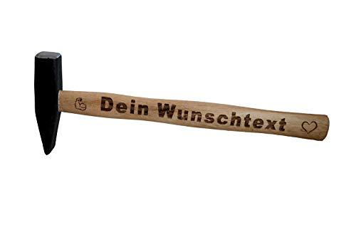 DER Hammer mit Deinem Wunschtext/Vatertag/Vatertagsgeschenk/Geburtstagsgeschenk für Papa/Personalisierter Hammer 300g
