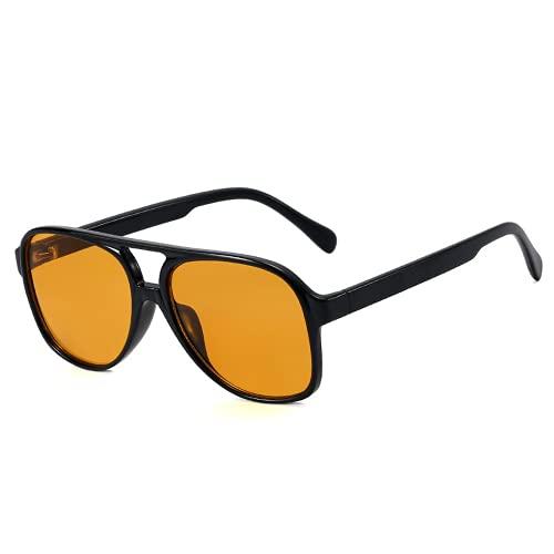 LKING Gafas De Sol Gafas De Sol De Mujer De Moda De Calidad Sin Maquillaje Gafas De Sol De Montura Grande