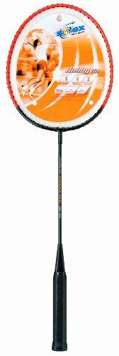 Solex Sports Badminton Schläger Control Gewicht 120g Schaft gehärteter Stahl mit Kunststoff-Saiten Bespannung
