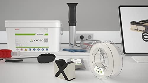 VXLGo - Sistema completo di accessori per filamento VXL70, 90, 111, 130 idrosolubili