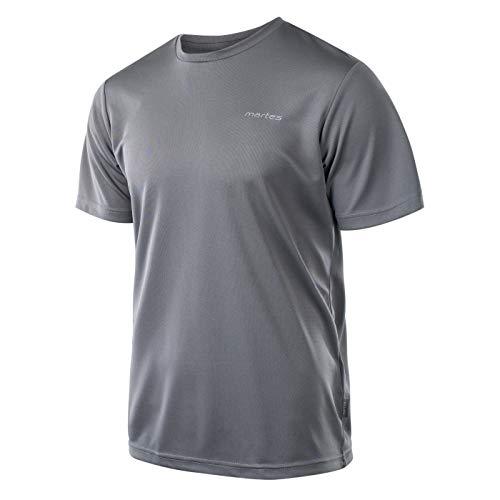 martes Herren Solan Funktions T-Shirt, Castlerock/Reflective, XL
