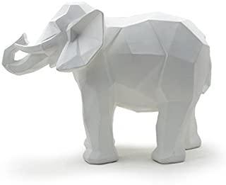 geometric elephant statue