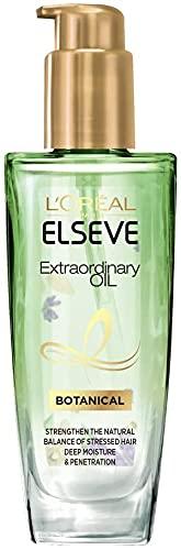 【お買い得なお試し価格】L'OrealParisロレアルパリエルセーヴエクストラオーディナリー艶髪オイルフルーティーフローラルの香りボタニカルツヤ本体100ml洗い流さないトリートメントべたつかない