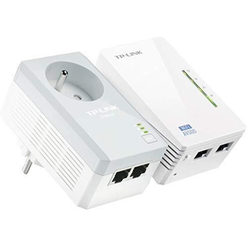 TP-Link AV500300Mbit/s Ethernet/LAN WiFi Weiß 2pièce (S) Adapter Netzwerk CPL–Adapter Netzwerk CPL (300Mbit/s, IEEE 802.11b, IEEE 802.11g, IEEE 802.11N, IEEE 802.3, IEEE 802.3u, Fast Ethernet, 10,100Mbit/s, IEEE 802.11N, IEEE 802.11b, IEEE 802.11g, IEEE 802.11N)