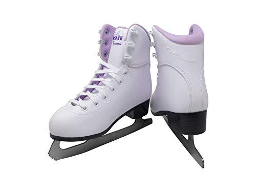 SoftSkate by Jackson GS180 Womens Ice Skates, Recreational Figure Skating (Purple Lining, 5)