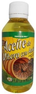 Aceite de Vibora con Arnica, Snake Oil with Arnica 120 ml Massage, Soft Muscle Pains