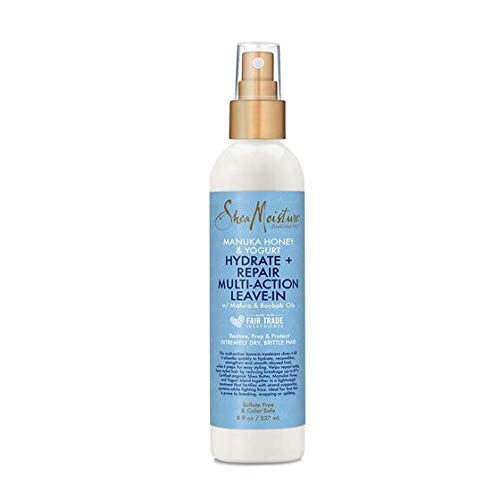 Shea Moisture Manuka Honey & Yoghurt Hydrate + Repair Multi-Action Leave-In 237ml feuchtigkeitsspendende und reparierende Haarkur