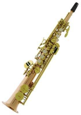 Bauhaus SOP-PD Deluxe Sopran-Saxophon, Bronze/Kupfer