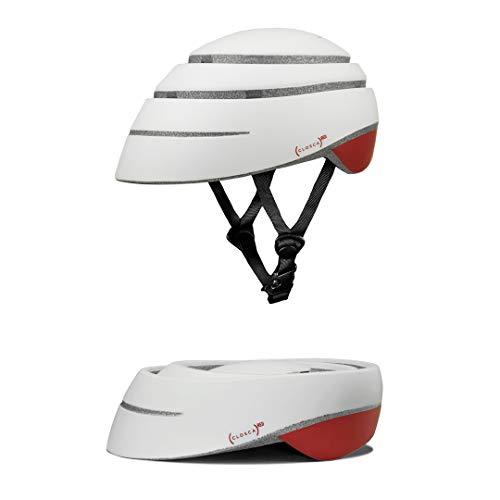 Closca Helmet Loop/Faltbarer Fahrrad- und/oder Rollerhelm, Unisex für Erwachsene (RED, M)