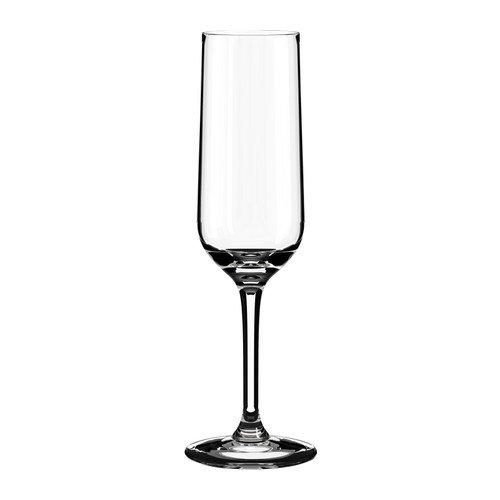 IKEA HEDERLIG, Sektglas, aus Glas, clear, 22 L