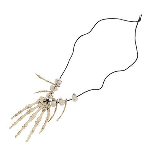 Sharplace 1 Pieza de Collar Estilo Calavera Cavernícola de Pirata Disfraces Accesorio Horible