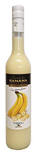 Torboli Bananenlikör | Crema Banana | Italienischer Likör | Frische Bananen |Cream 500ml