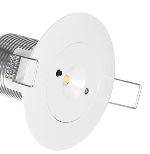 Notleuchte Sicherheitsleuchte Einbau LED Notbeleuchtung Exit Notausgang Fluchtwegleuchte Notlicht Fluchtweg (Fluchtwegbeleuchtug)