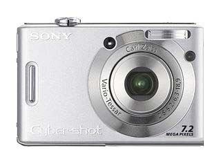 Sony Cyber-Shot DSC-W35 Digitalkamera (7 Megapixel, 3-Fach Opt. Zoom, 5,1 cm (2 Zoll) Display)