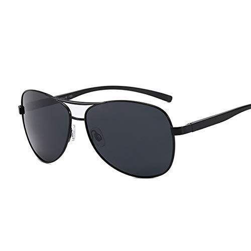 AleXanDer1 Gafas de Sol Hombres polarizados Negros Gafas de Sol Mujeres Moda Gafas de Sol Masculina Metal Espejo (Lenses Color : C4)