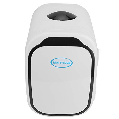 Fournyaa Car Fridge, Portable Car Refrigerator, Electric Fridge, Hot Cold Dual‑Use for Breast Milk/Caring Products Low Noise Home/School/Office(British standard 220v)