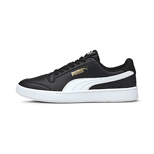 Puma Shuffle Jr, Zapatillas Deportivas, Black/White, 39 EU