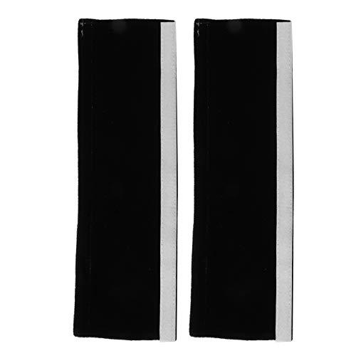 Cómodas fundas para manijas de nevera, protector de manija de horno, suave para gabinete de cocina, nevera, microondas, hogar(black)