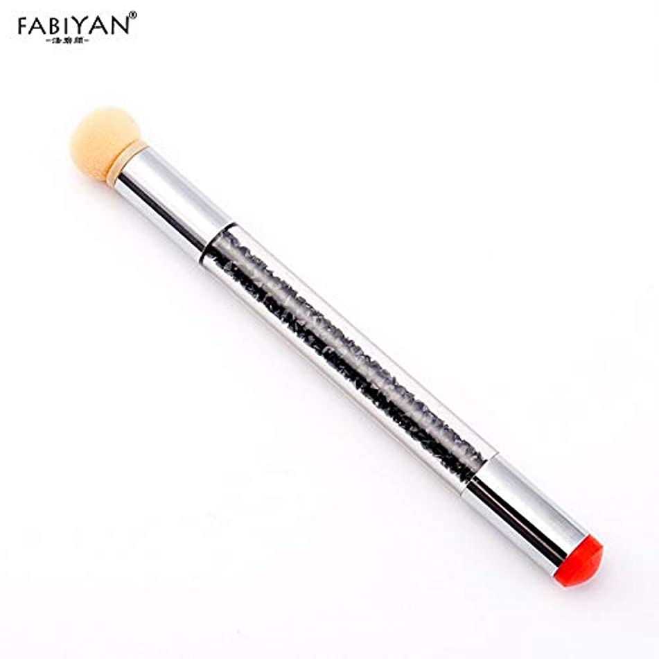 Best Quality - nail pen - Gradient Color Nail Art Brush Sponge Silicone Stamper Painting Drawing Dotting Transfer Pen Rhinestone Handle Manicure Tools New - by Olwen Shop - 1 PCs