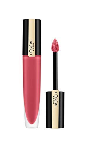 L'Oréal Paris Rouge Signature 121 I Choose, leichter und hochpigmentierter Ink-Lippenstift mit matte Finish, 7ml