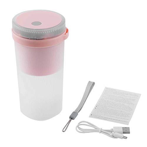 YXDS Mezclador exprimidor Mini licuadora exprimidor portátil Mezclador eléctrico Cocina Mano procesador de Alimentos Jugo rápido Taza de Fruta Botella Deportiva