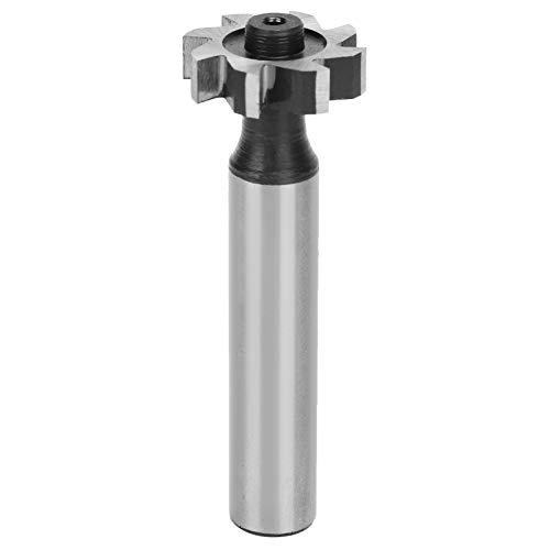 Fräser Nutfräser Fräser Drehbohrer Werkzeug HSS-Zylinderschaft T-Nut-Fräser Werkzeuge 5x19x10mm