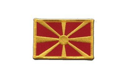 Aufnäher Patch Flagge Mazedonien - 8 x 6 cm